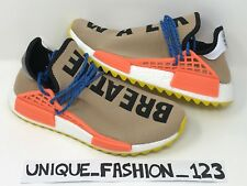 ADIDAS NMD HUMAN RACE PHARRELL HU TR PW UK 6 7 8 9 10 11 TRAIL PALE NUDE BEIGE