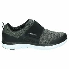 Scarpe Skechers Flex Appeal 2.0-Step Forward  Nero Donna 12898-BKW