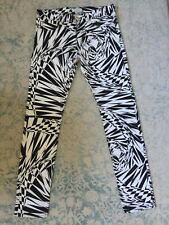"""Versace for H&M Stunning Black&White """"Optical Illusion"""" Jeans Size 32 BRAND NEW!"""