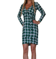 ABITO VESTITO DONNA DRESS WOMAN VERDE PHARD XS S L