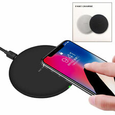 Fast Qi Wireless Charging Charger Dock Pad For Samsung Galaxy S8 S7 iPhone X 8