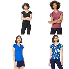 Activewear T-Shirt con Inserto in Mesh Donna - NUOVO