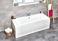 Heavy Duty Double Ended Straight Bath 1700mm x 700mm/750mm, 1800/ 800 Made in UK