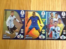 Panini Adrenalyn XL Fifa World Cup 2018 Top Master & Invincible cards