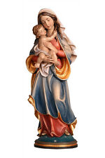 Our Lady of Peace statue wood carved