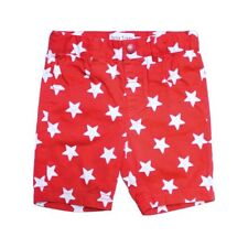 Sale! Toby Tiger Organic Cotton Red Star Boy's Shorts