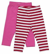 Sale! RRP £24. Toby Tiger Organic Cotton Pink Leggings Pack