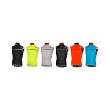 SMANICATO CASTELLI PERFETTO WINDSTOPPER ANTIVENTO SLEEVELESS BICI BIKE CYCLING