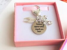 Feathers Appear when Angels are near Remembrance Memorial Gift. Family. Friends