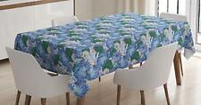 Oriental Garden Tablecloth Ambesonne 3 Sizes Rectangular Table Cover Decor