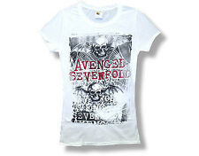 AVENGED SEVENFOLD T-Shirt Ladies Web OFFICIAL MERCHANDISE