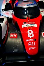 Toyota TS050-Hybrid 24 Hours of Le Mans 2017 photograph picture poster print