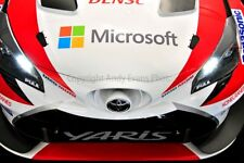 Toyota Yaris WRC 24 Hours of Le mans 2017 photograph picture poster print