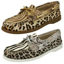 Donna Sperry Top-Sider Casual Scarpe Stile Barca Animale