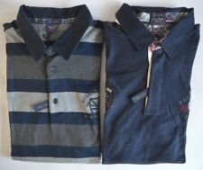 PAUL & SHARK YACHTING SHARK FIT LS COTTON POLO SHIRT FOR BIG & TALL - 6XL - NEW