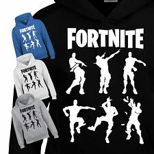 Fortnite 6 Character Hoody Gaming Xbox PS4 Gamers top Kids Inspired Gift T-Shirt
