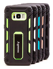 Heavy-Duty Kickstand Dual-Layer Armor Hybrid Cover for Samsung Galaxy S8 Case