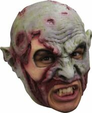 Mask Head Chin Strap Zombie Undead Guillotine Halloween Zombie Body Prop