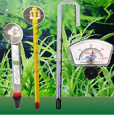 Various styles Submersible Glass Thermometer With Sucker Aquarium Fish Tank New