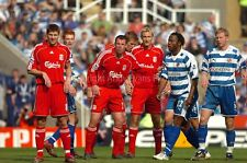 Liverpool FC Gerrard Carragher Crouch Hyypia v Reading photograph picture print