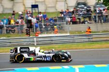 Gibson 0155-Nissan no42 24 Hours of Le Mans 2016 photograph picture poster print