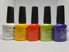 CND Shellac UV Nail Polish, Brand New, Nude and Chick, 130+ Colours,RM 1st CLASS