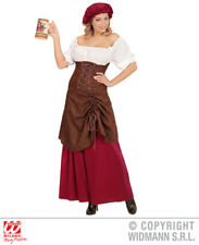 Ladies Tavern Wench Costume Wench Bartender Medieval Fancy Dress Cosplay