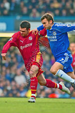 Chelsea FC Andriy Shevchenko & Reading Graeme Murty photo picture poster print