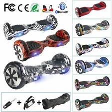 """6.5"""" Hoverboard Self Balance électrique Scooter Bluetooth Graffiti  Gyropode -FR"""