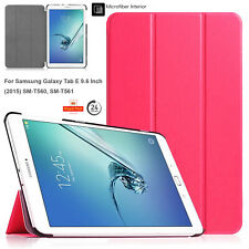 "New Smart Case Cover Stand For Samsung Galaxy Tab E 9.6"" SM-T560 & SM-T550/T550"