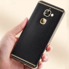 Leeco Le S3 X626 Case Silicone Rose Plating Gold Bumper Soft TPU Cover For Letv