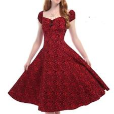 4a87f8082937 COLLECTIF DELORES DOLL LEOPARD FLOCK DRESS VINTAGE ROCKABILLY 50'S  ALTERNATIVE