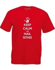 Brand88 - Keep Calm And Hail Sithis, T-Shirt Stampata da Uomo