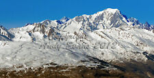 Mont Blanc Chamonix French Alps France photograph picture poster art print photo