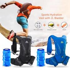 AONIJIE Hydration Vest Running Water Pack Cycling Backpack 2L Water Bladder B0O7