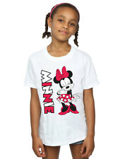 Disney Niñas Minnie Mouse Giggling Camiseta