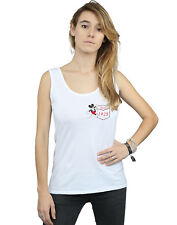 Disney Mujer Mickey Mouse Faux Pocket Since 1928 Camiseta Sin Mangas