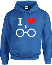 I Love Harry Potter, Harry Potter Sudadera con Capucha con Estampado Inspirado