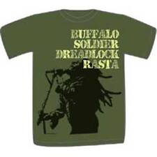BOB MARLEY T-Shirt Buffalo Soldier Dreadlock OFFICIAL MERCHANDISE