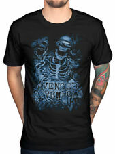 AVENGED SEVENFOLD T-Shirt Chained Skeleton OFFICIAL MERCHANDISE