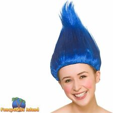 Unisex Adult/'s Size Furry Elf Wig Fuzzy Troll Wig Pixie Wig Costume Accessory