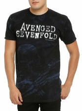 AVENGED SEVENFOLD T-Shirt Nightmare tie dye OFFICIAL MERCHANDISE