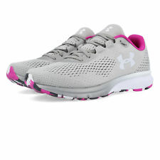 Under Armour Mujer Charged Spark Correr Zapatos Zapatillas Gris Deporte Running
