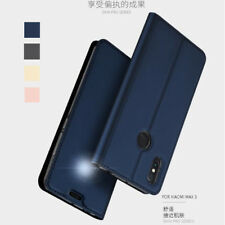 Magnetic Leather Wallet Card Slot Stand flip Skin Cover Case For Xiaomi Max 3