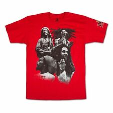 BOB MARLEY T-Shirt Quad Photo OFFICIAL MERCHANDISE