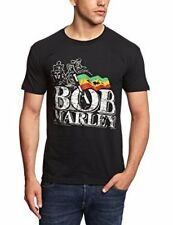 BOB MARLEY T-Shirt Distressed Logo OFFICIAL MERCHANDISE