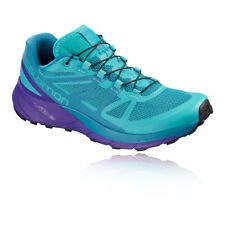 Salomon Womens Sense Ride Trail Running Shoes Trainers Sneakers Blue Sports