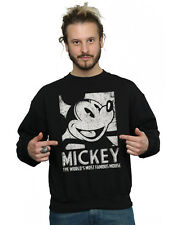 Disney Homme Mickey Mouse Most Famous Sweat-Shirt