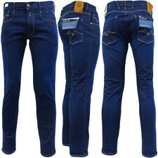 Replay Hyperflex azul Slim Fit Jean / Denim pantalones - M914Y-000-661-319-007