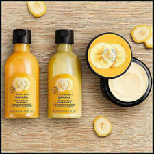Banana Truly Nourishing Hair Mask +Shampoo + Conditioner The Body Shop